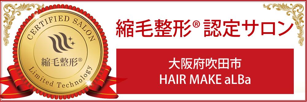 吹田市江坂駅近く美容室 HAIR MAKE aLba/アルバ